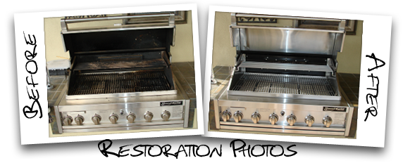 Grill Cleaning   BBQ Repair and Restoration