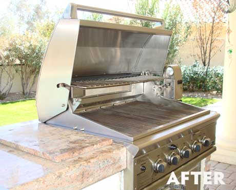 how to clean bbq grill after winter
