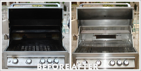 Grill Cleaning Before and After 09