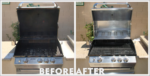 Grill Cleaning Before and After 16
