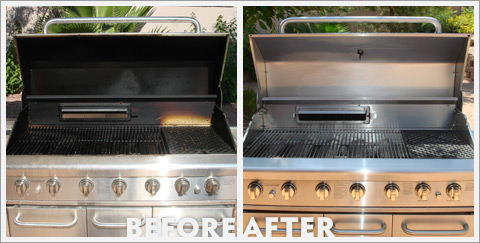 Grill Cleaning Before and After 19