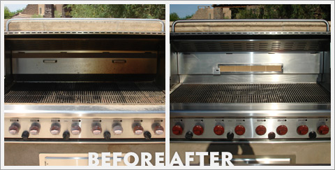 Grill Cleaning Before and After 24