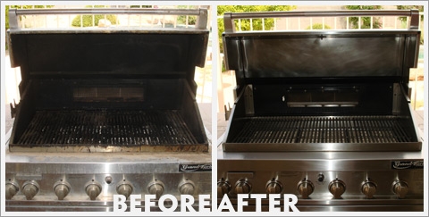 Grill Cleaning Before and After 25