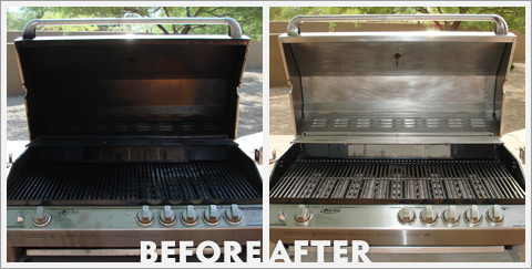 Grill Cleaning Before and After 26