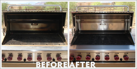 Grill Cleaning Before and After 28