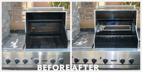 Grill Cleaning Before and After 32