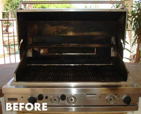 Viking Grill Cleaning And Repair Service Bbq Cleaning Guru